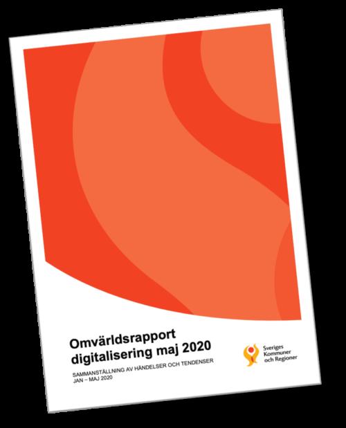 SKR Omvärldsrapport digitalisering maj 2020