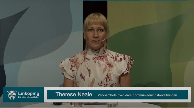 Digitala Linköping moderator Therese Naele verksamhetsutvecklare kommunledningsförvaltningen