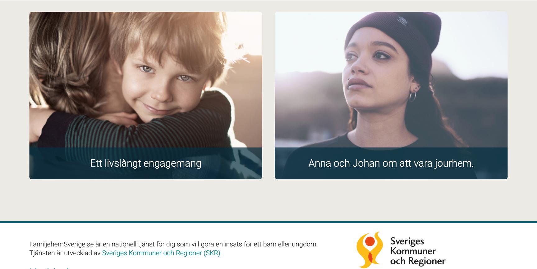 Familjehem för trygga och självsäkra barn ett livslångt åtagande