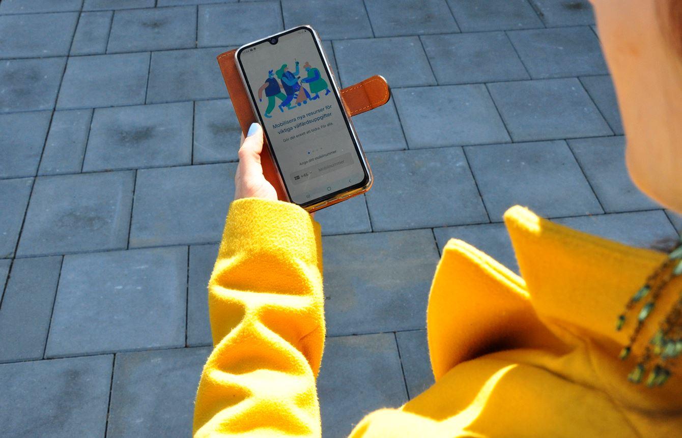 Digital lösning förenklade hjälpen till Tomelillabor i karantän
