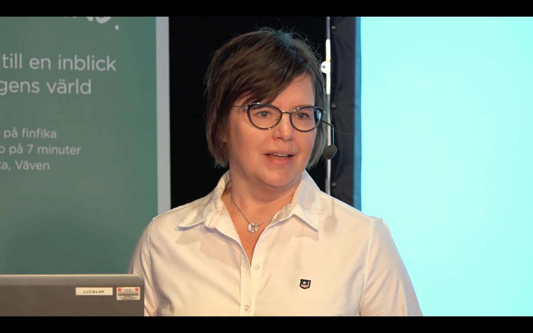 Inger Nilsson föreläser