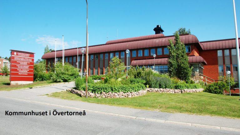 Kommunhuset i Övertorneå