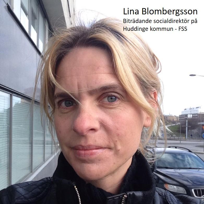 Lina Blombergsson FSS och biträdande socialchef Huddinge kommun