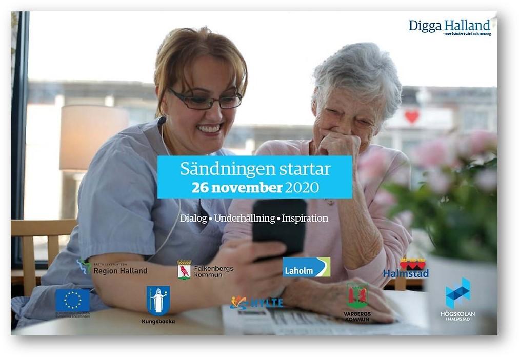 Dela Digga Halland konferensen - webbinarium den 26 november