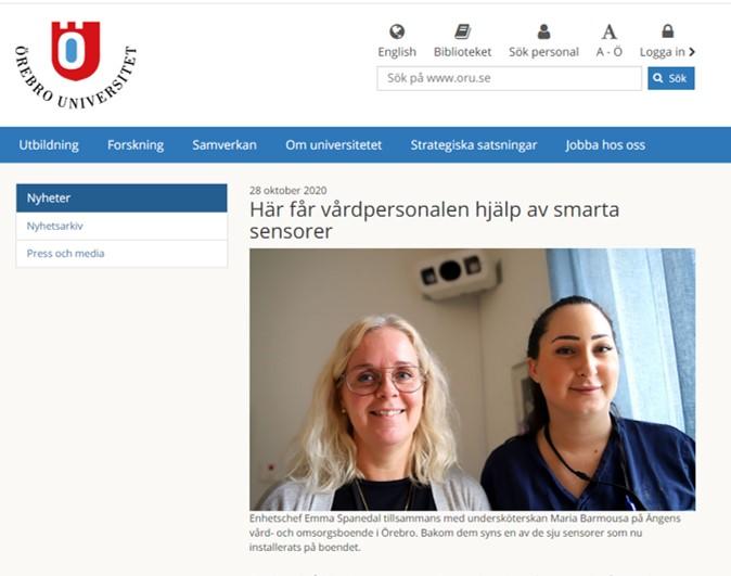 Digital vårdassistent för säkrare vård