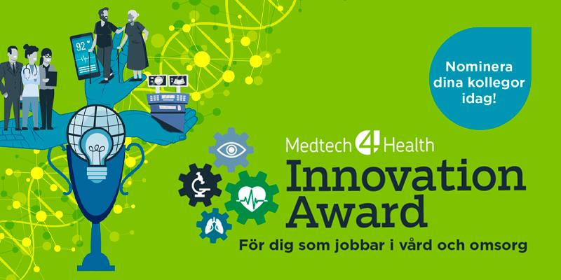 Nominera till Medtech4Health Innovation Award 2021