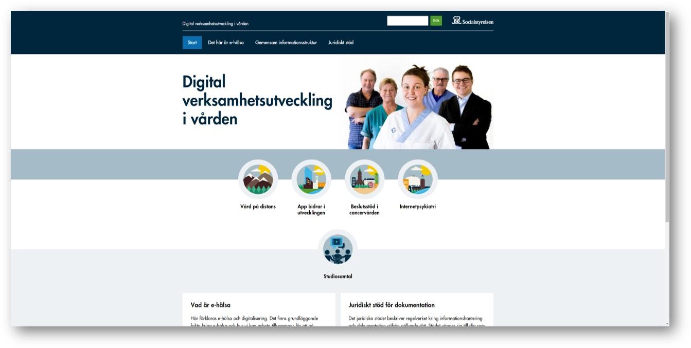 Digital verksamhetsutveckling i vården
