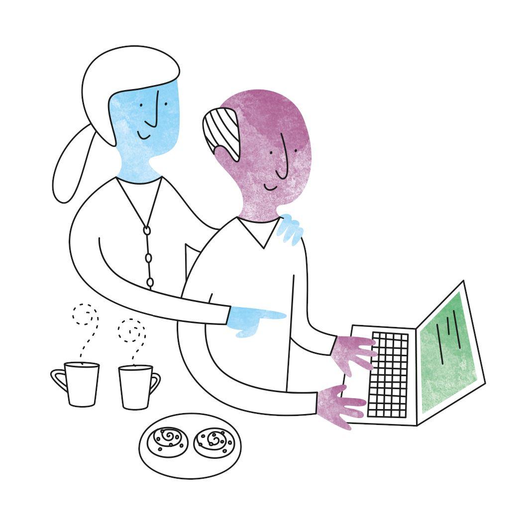 Ombud ger sitt samtycke till E-hälsomyndigheten att hantera personuppgifter med stöd av närstående