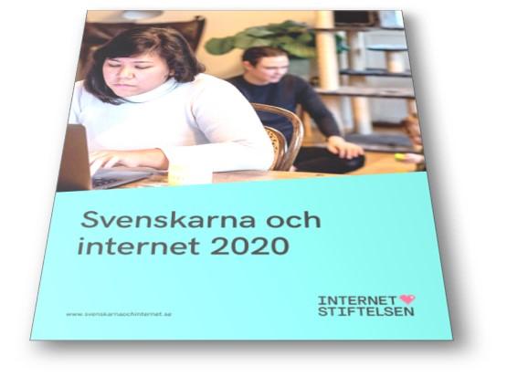 Svenskarna och Internet 2020, Internetstiftelsen