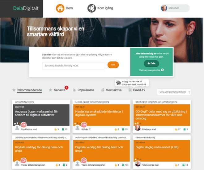 Dela Digitalt Tillsammans skapar vi en smartare välfärd
