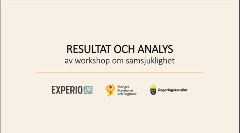 Resultat och analys av workshop om samsjuklighet
