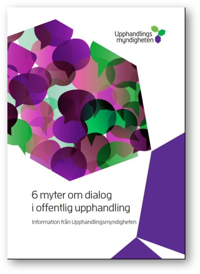 6 myter om dialog i offentlig upphandling