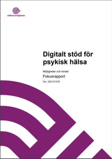 Digitalisering och e-hälsa kan förbättra den psykiska hälsan