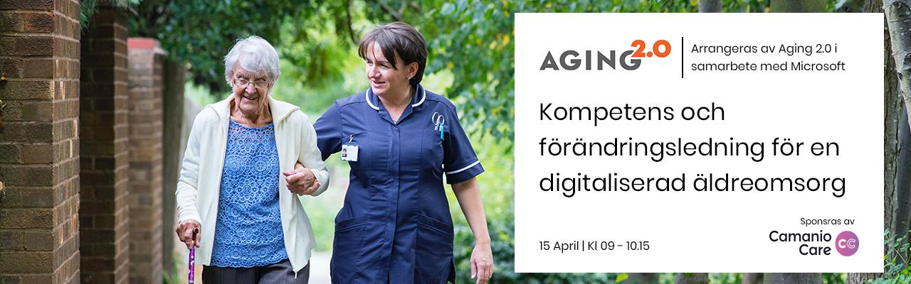 Kompetens och förändringsledning för en digitaliserad äldreomsorg