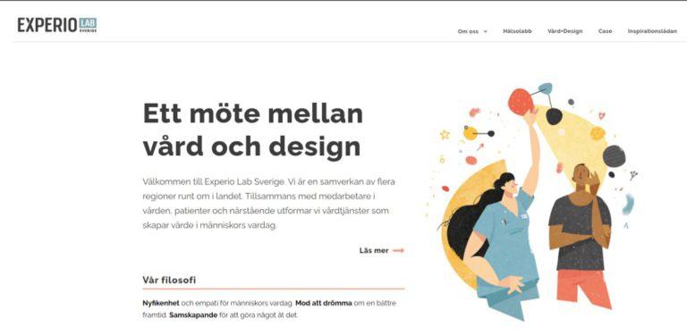 Ett möte mellan vård och design