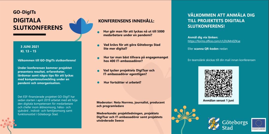GO-DigIT konferens 3 juni