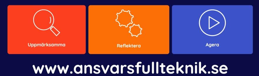 www.ansvarsfullteknik.se Kommittén för teknologisk innovation och teknik