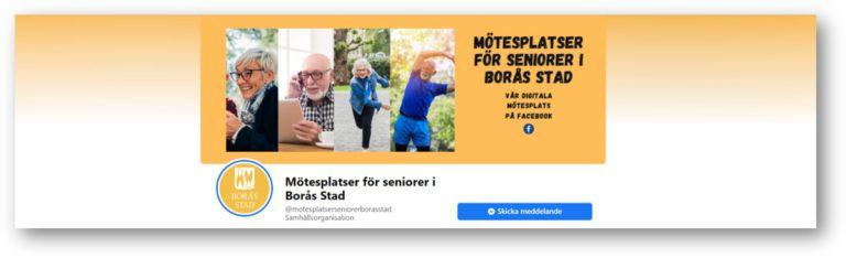 Mötesplatser för seniorer i Borås stad