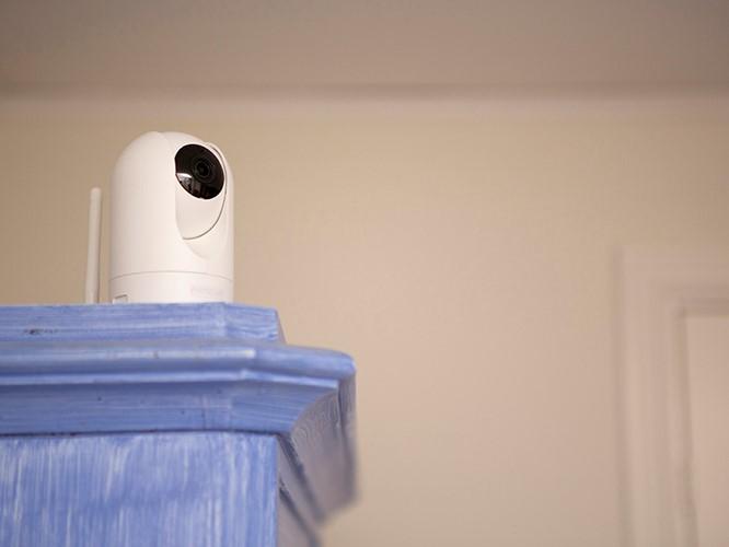Kameran som gör fjärrtillsyn möjligt