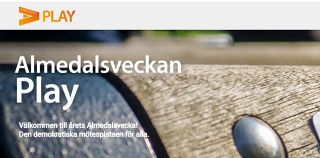 Almedalsveckan play. Välkommen till årets Almedalsvecka! Den demokratiska mötesplatsen för alla.