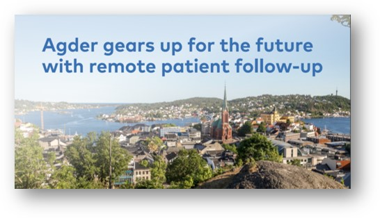 Agder gears up for the future with remote patient follow-up