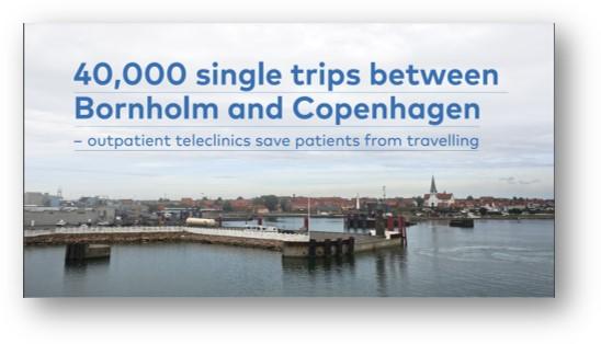 40,000 single trips between Bornholm and Copenhagen