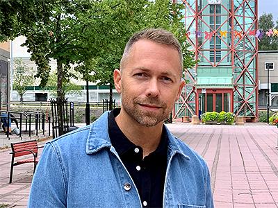 David Wiklund, projektledare Kramfors kommun