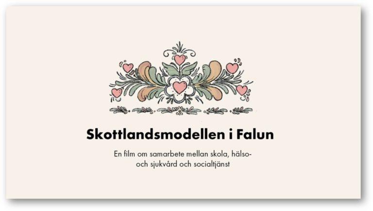 Skottlandmodellen i Falun. E