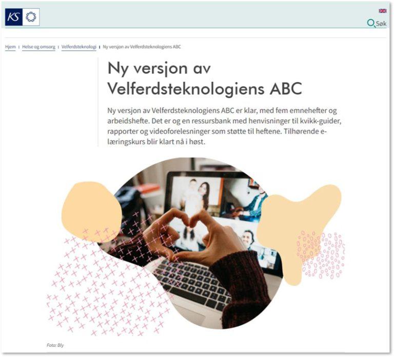 Ny versjon av Velferdsteknologiens ABC