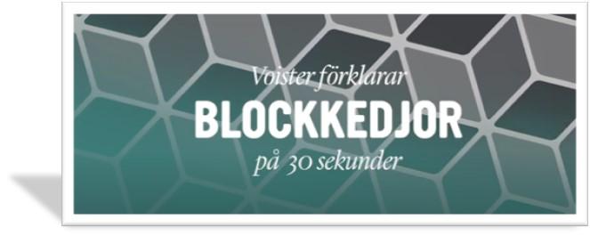 Voister förklarar blockkedjor på 30 sekunder